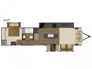Lakeview 341ET Floorplan Image