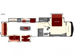South Fork Lawton Floorplan Image