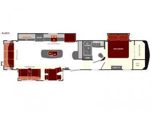 South Fork Austin Floorplan Image
