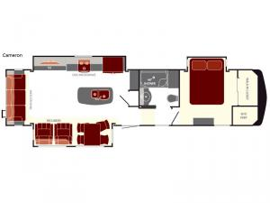 South Fork Cameron Floorplan Image
