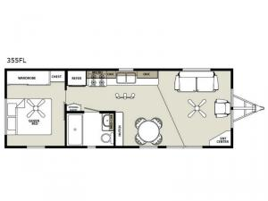 Summit 355FL Floorplan Image