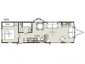 Summit 40FD Floorplan Image
