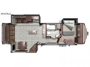 Open Range OF337RLS Floorplan Image