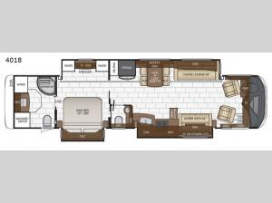 Mountain Aire 4018 Floorplan Image