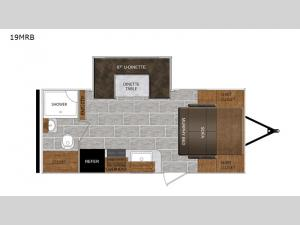 Tracer Breeze 19MRB Floorplan Image