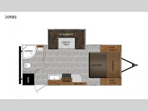 Tracer Breeze 20RBS Floorplan Image