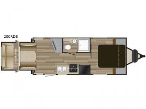 Shadow Cruiser 200RDS Floorplan Image