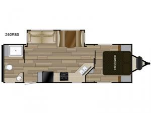Shadow Cruiser 260RBS Floorplan Image