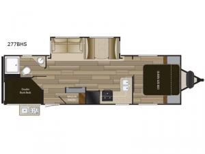 Shadow Cruiser 277BHS Floorplan Image