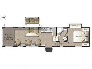 Powerlite 3617 Floorplan Image
