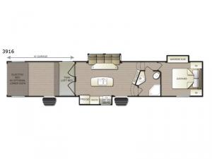 Powerlite 3916 Floorplan Image