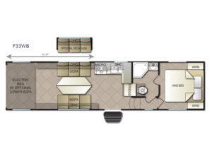 Powerlite F33WB Floorplan Image