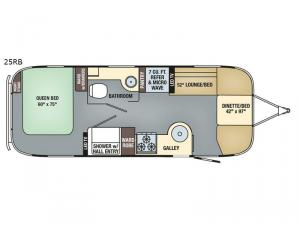 International Signature 25RB Floorplan Image