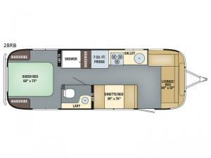 International Signature 28RB Floorplan Image