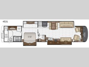 King Aire 4531 Floorplan Image