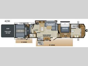 Seismic 4250 Floorplan Image