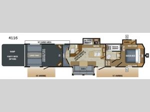 Seismic 4116 Floorplan Image