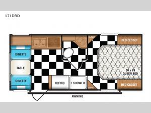 Retro 171DRD Floorplan Image