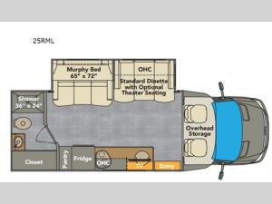 Villagio 25RML Floorplan Image