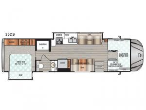 Force 35DS Floorplan Image