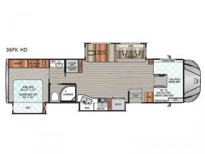 Force 36FK HD Floorplan Image