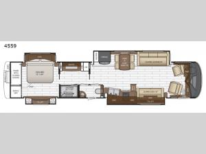 King Aire 4559 Floorplan Image