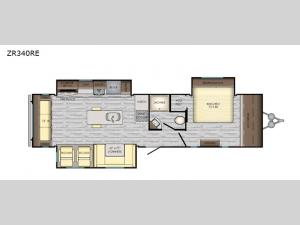 Zinger ZR340RE Floorplan Image
