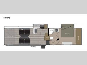 Rage'n 3400XL Floorplan Image