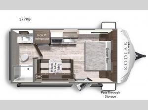 Kodiak Cub 177RB Floorplan Image