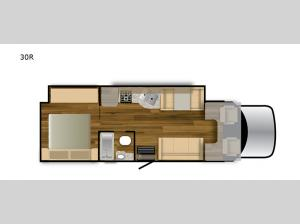 Rebel 30R Floorplan Image