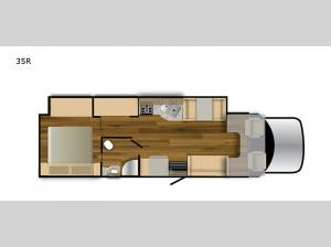 Rebel 35R Floorplan Image