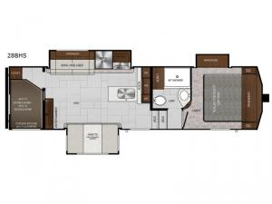 Impression 28BHS Floorplan Image