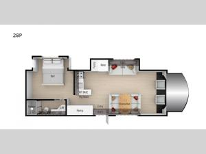 Phantom 28P Floorplan Image