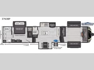 Montana 3763BP Floorplan Image