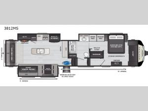Montana 3812MS Floorplan Image
