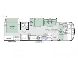 Windsport 31S Floorplan Image