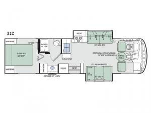 Windsport 31Z Floorplan Image