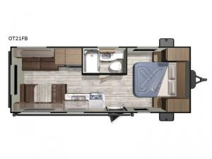 Open Range Conventional OT21FB Floorplan Image