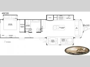 Cedar Creek Cottage Limited Edition 40C20 Floorplan Image