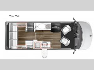 National Traveler Tour TVL Floorplan Image