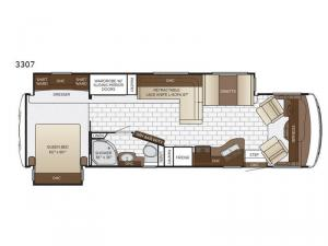 Bay Star Sport 3307 Floorplan Image
