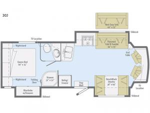 Cambria 30J Floorplan Image