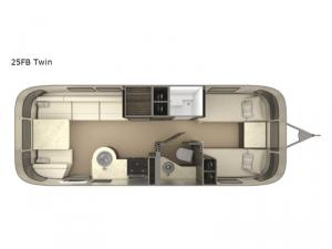 International Signature 25FB Twin Floorplan Image