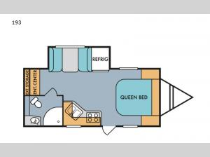 Retro Silver Series 193 Floorplan Image