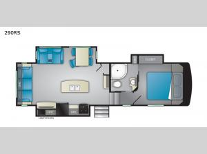 ElkRidge Focus 290RS Floorplan Image