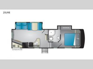 ElkRidge Focus 251RE Floorplan Image