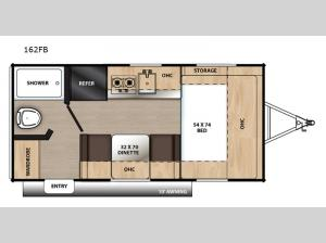 Catalina Summit Series 162FB Floorplan Image