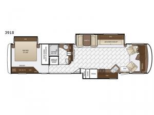 Canyon Star 3918 Floorplan Image