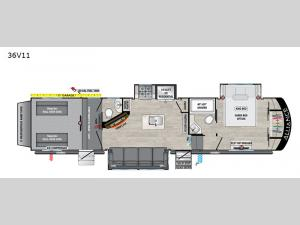 Valor 36V11 Floorplan Image