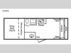 2518 Series 2518KS Floorplan Image